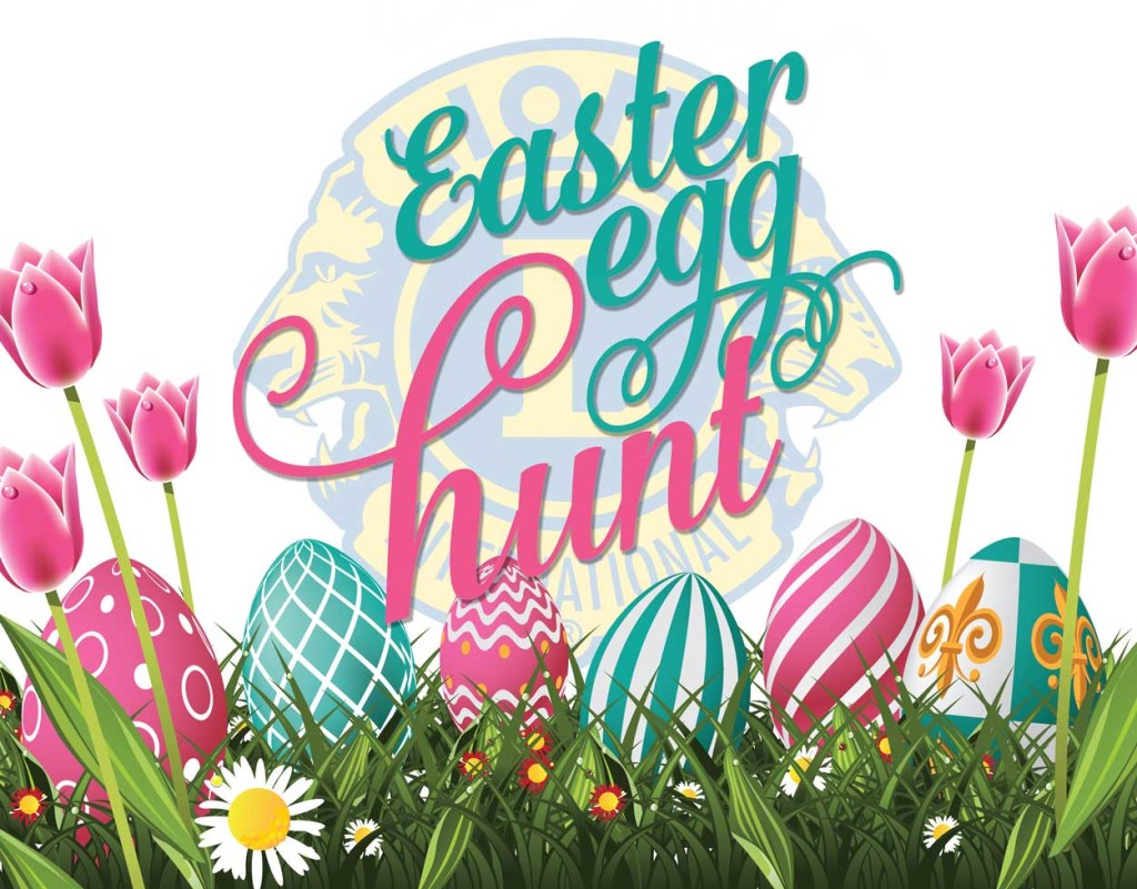 Westbury Lions Annual Easter Egg Hunt – 26th March 2016