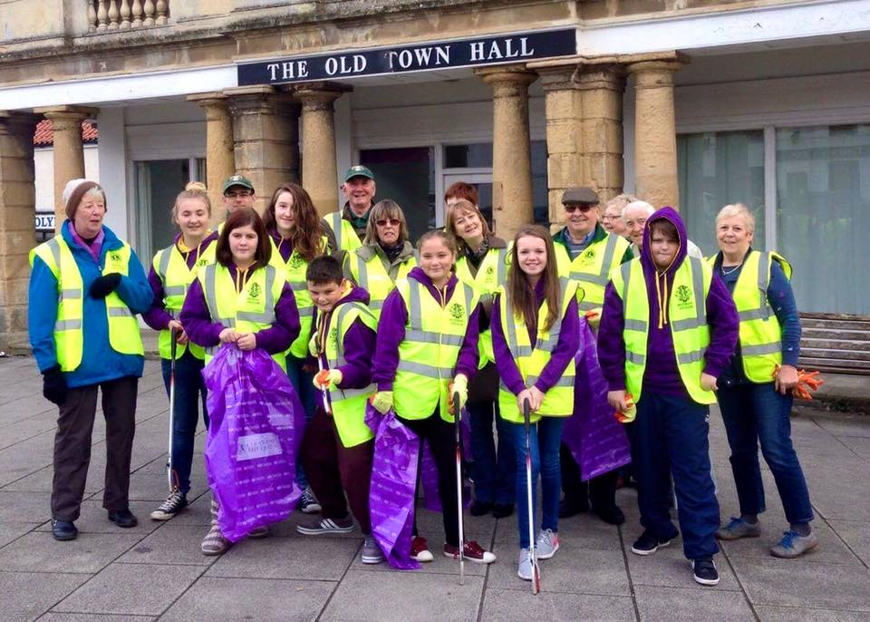 Westbury Lions & Leos Street Clean – Report