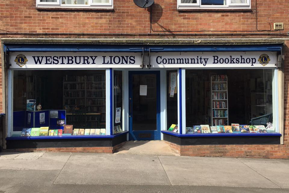 Westbury Lions Community Bookshop is on the Move!