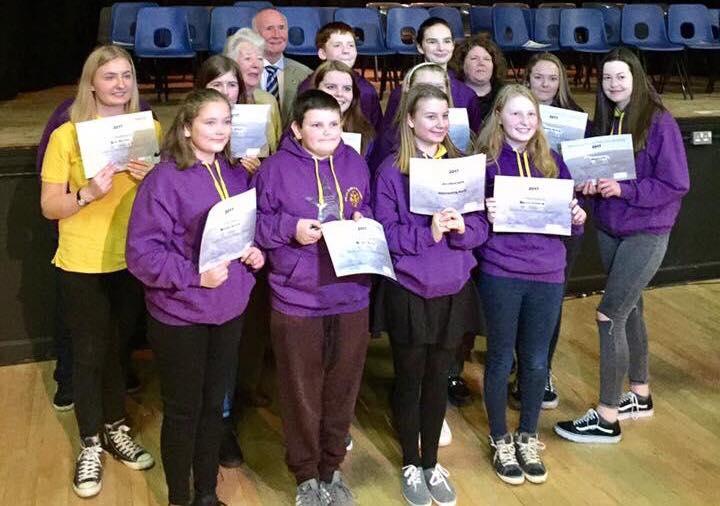Westbury Leos Club Receive Young Volunteers Award