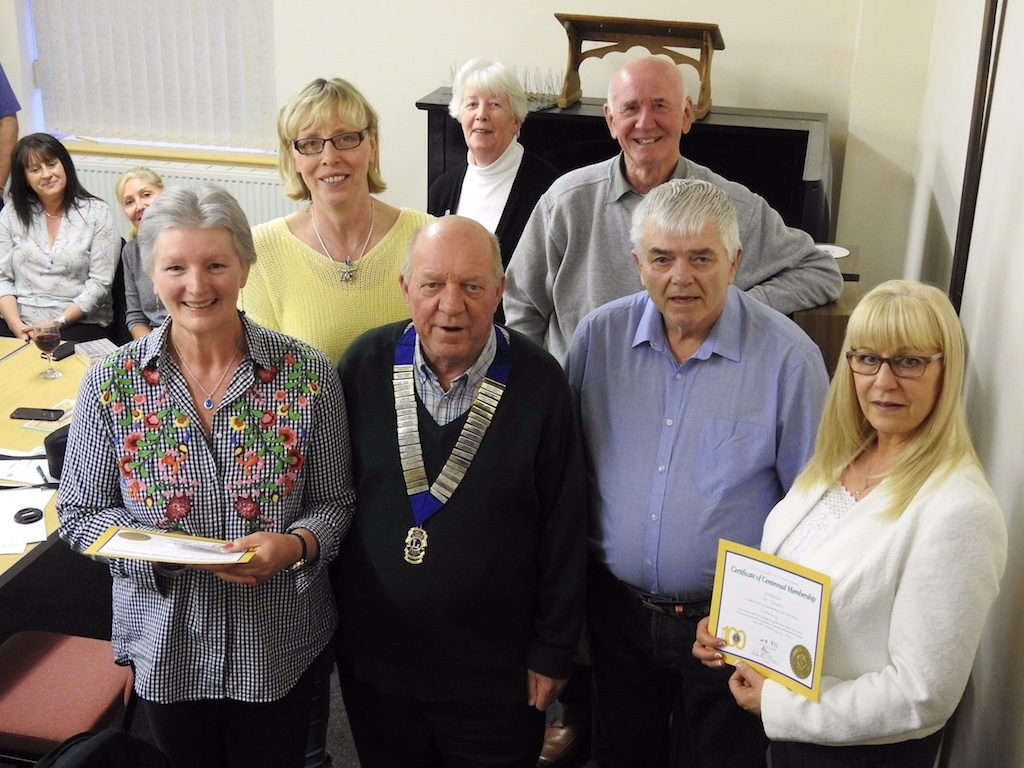 3 New Members for Westbury Lions