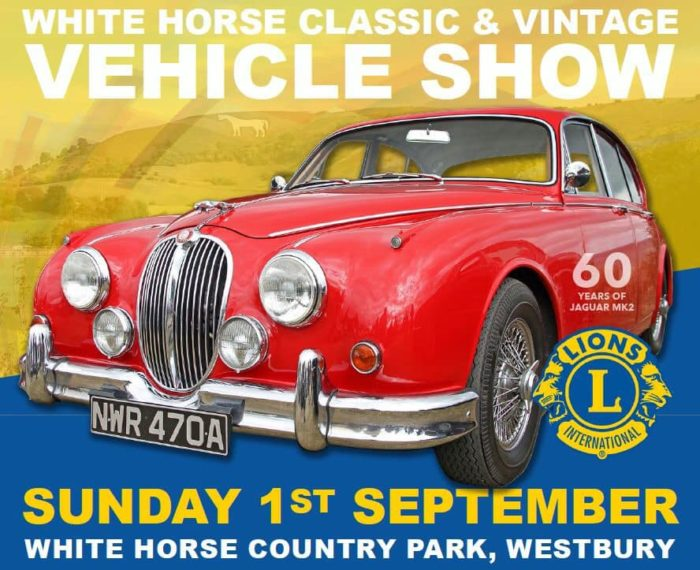 Over 400 Vehicles support our 2nd White Horse Show!